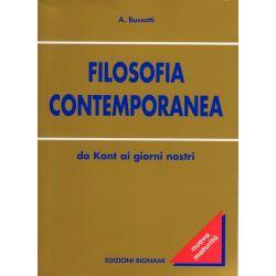 Riassunto di Filosofia contemporanea - Da Kant ai giorni nostri - Edizioni Bignami