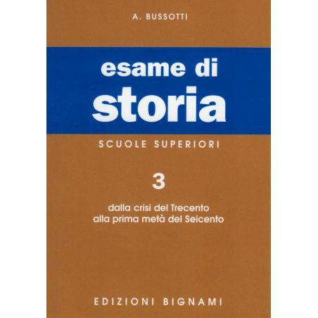 Riassunto di Storia - Dal 300 alla prima metà del 600 - Edizioni Bignami
