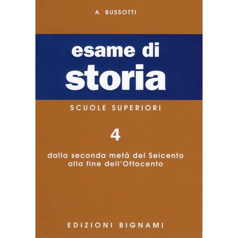 Riassunto di Storia - Dalla seconda metà del Seicento alla fine dell'Ottocento - Edizioni Bignami