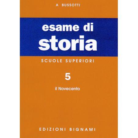 Riassunto di Storia - il Novecento - Edizioni Bignami