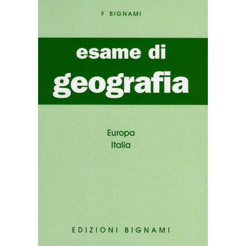 Esame di Geografia - Europa, Italia