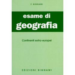 Riassunto di Geografia - Continenti extraeuropei - Edizioni Bignami