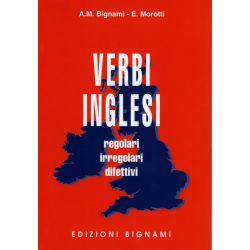 Verbi inglesi - regolari, irregolari, difettivi