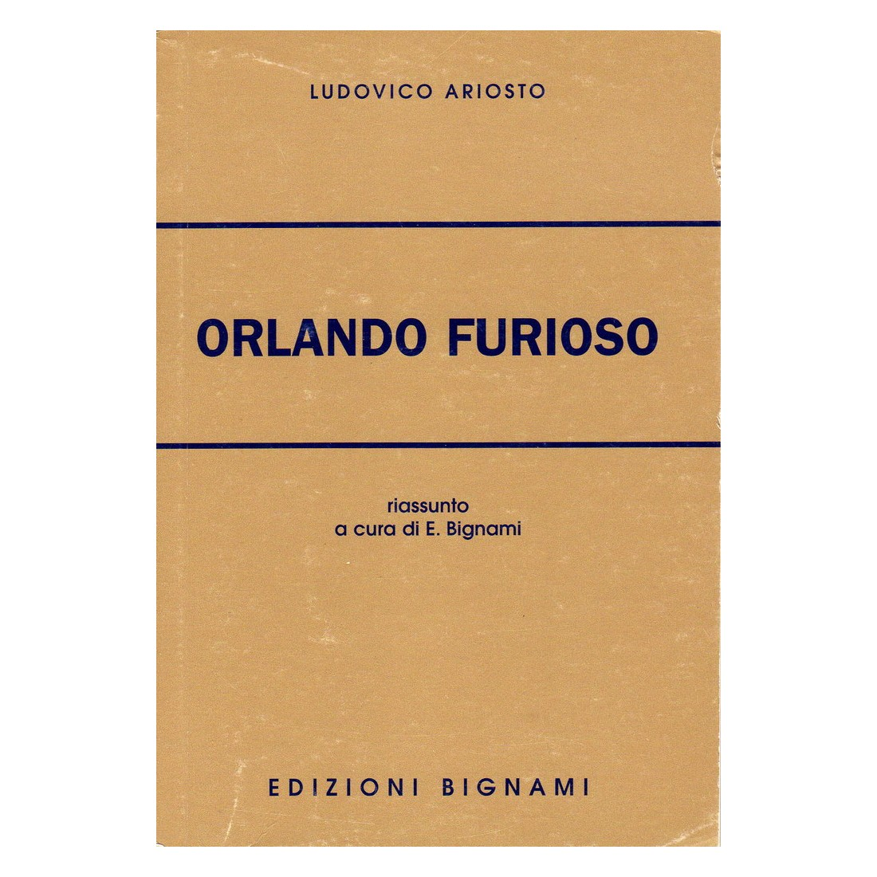 Orlando furioso - Ludovico Ariosto - Riassunto