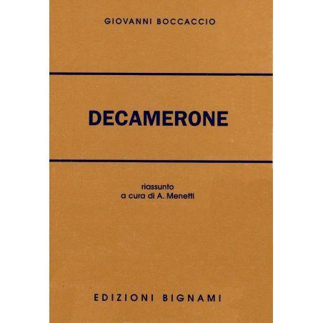 Decamerone - Giovanni Boccaccio - Riassunto