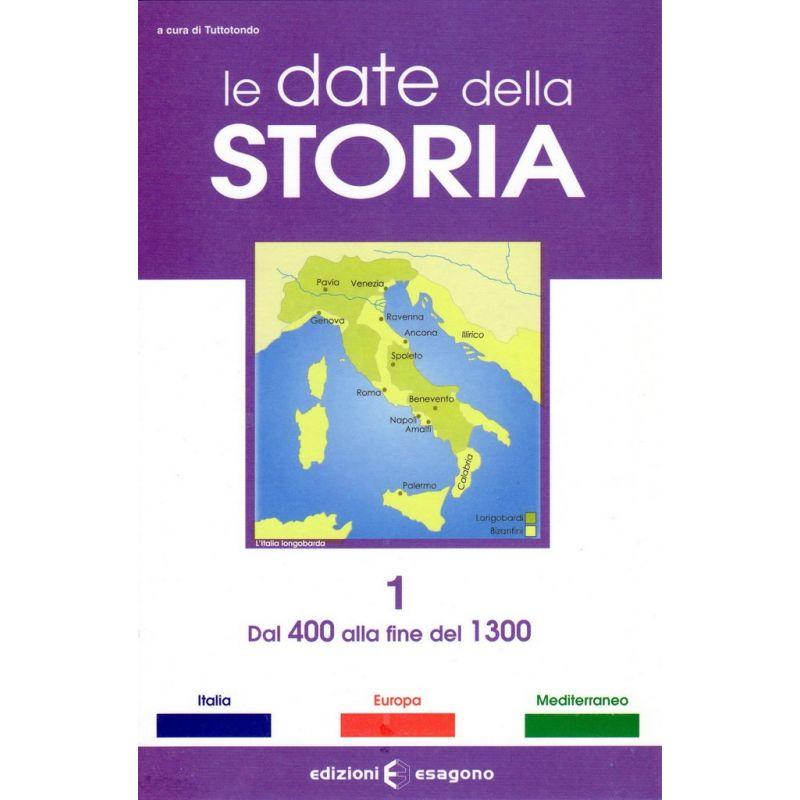 Storia 1 - dal 400 alla fine del 1300 - Scheda - Edizioni Bignami