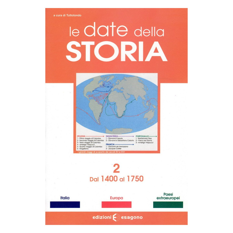 Storia 2 - dal 1400 al 1750 - Scheda - Edizioni Bignami