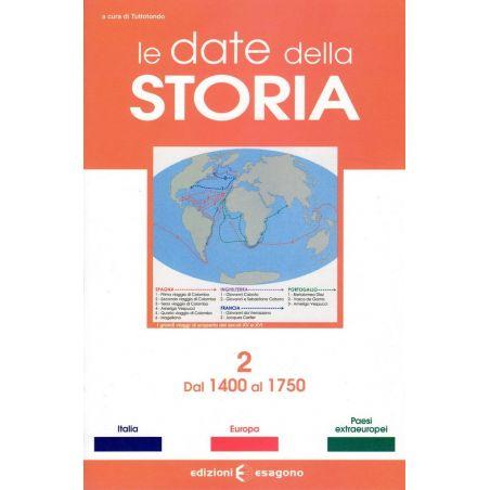Le date della Storia 2: Dal 1400 al 1750 - Scheda