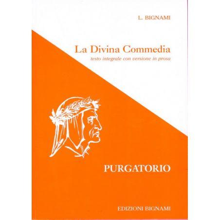 La Divina Commedia - Purgatorio - testo integrale con versione in prosa