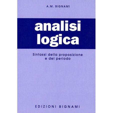 Analisi logica - sintassi della proposizione e del periodo