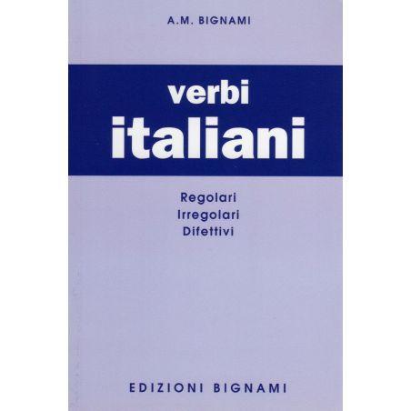 Verbi italiani - regolari, irregolari, difettivi